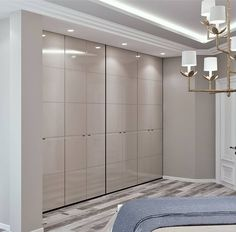 Light ( top of d wrdrb) gldn - PintoPin Wardrobe Interior Design, Wardrobe Design Bedroom, Bedroom Furniture Design, Interior Design Living Room, Bedroom Cupboard Designs, Bedroom Cupboards, Mansion Interior, Apartment Interior, Floor To Ceiling Wardrobes