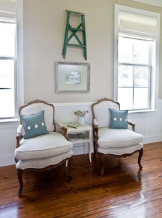 French Fabrics 8 Tips - Cedar Hill Farmhouse - 8 tips to picking the best fabric to give your home a French feel - French Decor, French Country Decorating, Shabby, Old Chairs, Recover Chairs, French Chairs, French Furniture, Modern Furniture, Grain Sack
