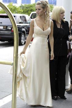 El vestido de novia de Luisana Lopilato en su boda en Canadá | Blocdemoda.com