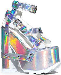 Y.R.U. Nightcall Platform Sandals