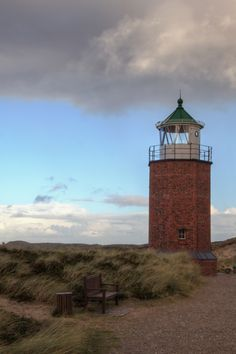 Rotes Kliff Lighthouse, Sylt, Germany
