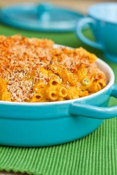 Vegan butternut squash macaroni. #vegan