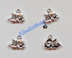charms angelitos 13mm x 16mm