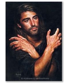 "Akiane Jesus ""I AM"" painted at age 17  http://www.jesusprinceofpeace.com/jesus-i-am"