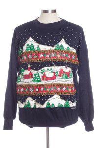Black Ugly Christmas Sweatshirt 31296