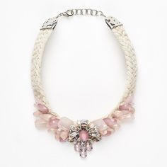 "Candy necklace, lilac - ""RIGA"" Weekend Max Mara"