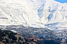 Mount Lebanon, Middle East, Mount Everest, Around The Worlds, Mountains, Winter, Nature, Photography, Travel