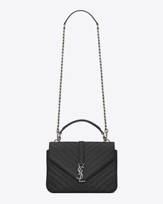 953aa43836 Collège medium in matelassé leather. Ysl College Bag MediumCollege  BagsSaint Laurent ...