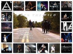 #MARScollage | #IntoTheWild Tour collage