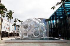 buckminster fuller fly's eye dome miami design district designboom