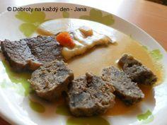 Svíčková od Petra Havlíčka..i pro diabetiky Petra, Dieta Detox, Diabetes, Food And Drink, Fitness, Beef, Meat, Ox, Excercise