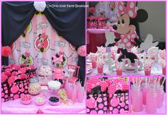 Minnie Mouse themed kiddies party and Candy table by Co-Ords Kidz Party Boutique