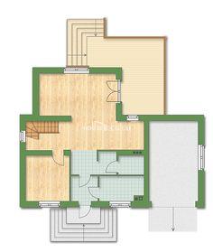 180-013-R. План на 1 етаж