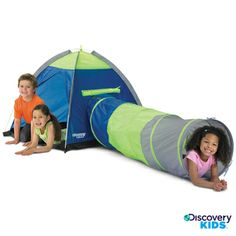 Kids Indoor Outdoor Discovery Adventure Pop Up Play Tent Tunnel Tube Hut House Childrens Play Tents, Kids Tents, Indoor Play, Indoor Outdoor, Outdoor Toys, Playground Swings, Pop Up Play, Kids Pop, Kid Essentials