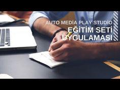 Auto Play Media Studio AMS Eğitim Seti Uygulaması Video küçük resim  emretufan.com