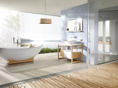 Descúbre baños con vistas espectaculares en nuestro blog www.1748.es #villeroyboch #villeroyboches #baño #bañera #confort #relax #vistas