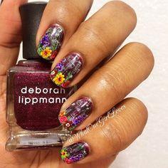Spring nail inspiration by @whatonegirlloves #Sephora #sephoranailspotting