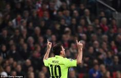 Champions League: Lionel Messi Scores Twice To Equal Record