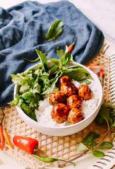 These spicy Asian meatballs are not your run-of-the-mill variety. These Asian meatballs are delicious, unique and will redefine your meatball expectations!
