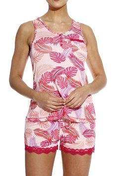 Short Pijama Sleep Set Drip-Dry Clothing, Shoes & Accessories