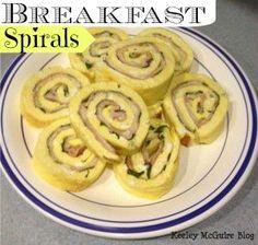 Breakfast spirals - MOMables.com