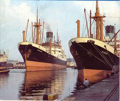 blue funnel liners #steamships _ #bluefunnel