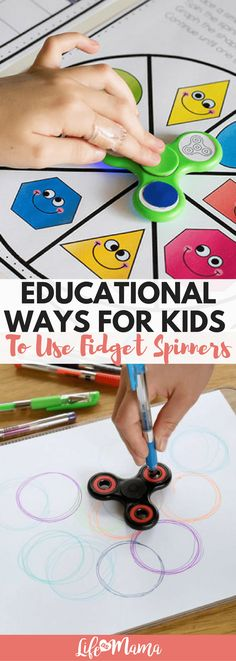 Whether it's to get your kids to do their chores or to have fun doing their homework, you can use the fidget spinner in YOUR favor!