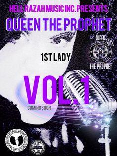 Queen the Prophet  1st Lady, Volume 1 MXTP (12/17/14) Promo Flyer