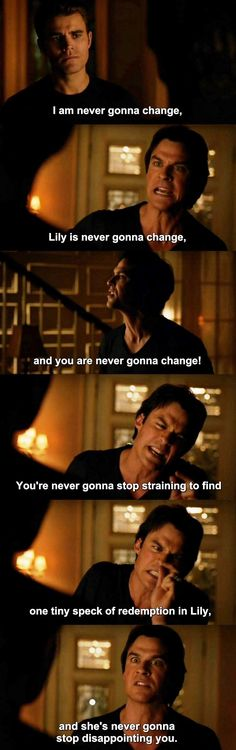 The Vampire Diaries TVD 7X07 - Damon and Stefan