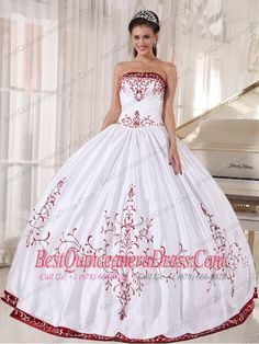 white-and-wine-red-ball-gown-strapless-floor-length-satin-embroidery-quinceanera-dress-453.jpg (600×800)