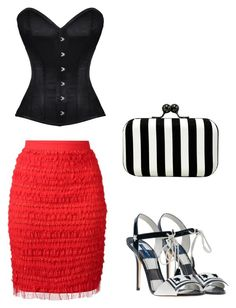 """""""Untitled #4317"""" by carlafashion-246 ❤ liked on Polyvore featuring Givenchy, Dolce&Gabbana and La Regale"""