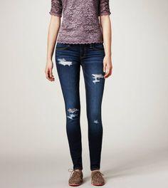 Slashed Jeans/Skinny Jeans