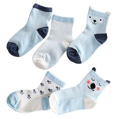 Baby Non-skid Socks,1 Pairs Toddler Girls Floor Sock Cute Bow 0-4 Years