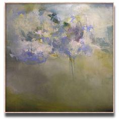 "King's blue. 54x54"". Oil on canvas. Www.sharonkingston.com"
