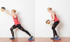 14 Unique Medicine Ball Exercises to Work Your Body and Core: Medicine Ball Knee Pulls