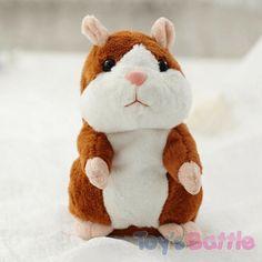 Hamster interactif est une petite peluche qui répète tout ce que vous dites. Un adorable compagnon pour votre enfant, il va répéter tous ses mots..