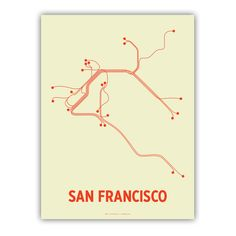 SF Lineposter $20