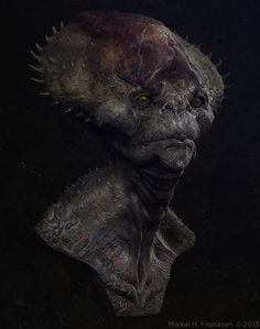 Alien Bust by Mikkel H. Frandsen 2013