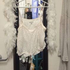 American Eagle Boho Flowy Crop Top >breezy boho bliss! American Eagle Outfitters Tops Tank Tops
