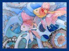 Шума Татьяна. золотые рыбки