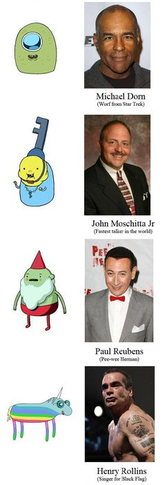 "25 Actors You Might Not Have Known Did Voices On ""Adventure Time""....MIND = BLOWN"