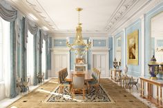 EMPIRE DINING ROOM | Interni Group