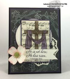 Stampin' Up! Easter Message Dogwood | Stamps – n - Lingers