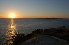 Sunset depuis le plus haut blockhauss de la Pointe de Suzac #saintgeorgesdedidonne #royan #estuaire #sunset #couchédesoleil #sky #parcdelestuaire #falaise #charentemaritime
