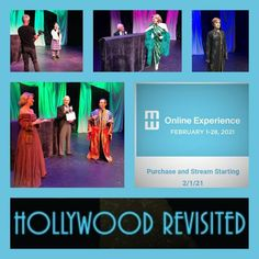 For the virtual modernism week celebration of 2021 we are streaming a performance of Hollywood Revisited with never before seen information and backstage insight to these Hollywood stars and the original costumes they wore in the Golden Age films of the 30's-50's $25 tickets go on sale February 1st Modernism Week, Online Programs, Hollywood Stars, Corporate Events, Golden Age, Backstage, Insight, Musicals, February