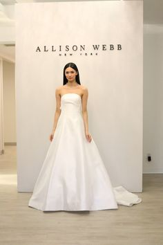 51c7ab2ccbb Bridal fashion week trends from Kristen Taekman. Get the latest in wedding  dress styles for