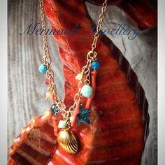 Kette *Koralle* crystallized w. Swarovski Elements von MermaidsJewellery auf DaWanda.com
