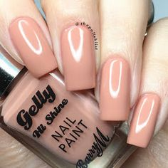 Barry M Spring 2017 New Gelly Hi-Shine in Peanut Butter