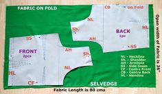 Sudha's Apparel Patterns: How to make Simple Saree Blouse without Sleeve? / Sleeveless Blouse