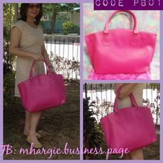 Pink Penelope Bag   Design: Pink Size: 18.5 x 5 x 11.5 Price: Php 1,450  Free Shipping within Metro Manila!  SMS / Viber : +639176085762 WeChat: Mhargic8 Email: mhargic.business@gmail.com PM: www.facebook.com/mhargic.business.page